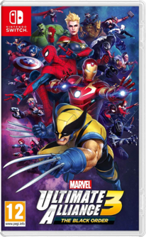 Marvel Ultimate Alliance 3: The Black Order Switch (EU PEGI) (deutsch) [uncut]