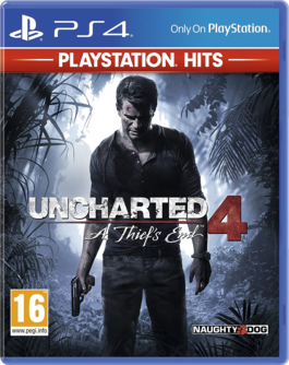 Uncharted 4: A Thief's End PS4 (EU PEGI) (englisch) [uncut]