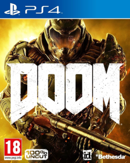 DOOM PS4 D1 Edition + 4 DLCs (PEGI auf DISK) (deutsch) [uncut]