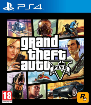Grand Theft Auto V PS4 (EU PEGI) [uncut]